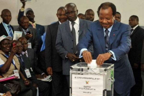 EU calls for peaceful election in Cameroon