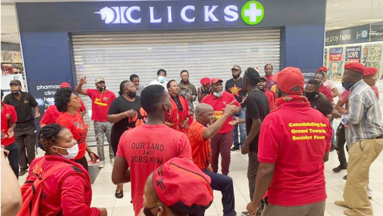 Clicks at Edendale Mall shut due to threats