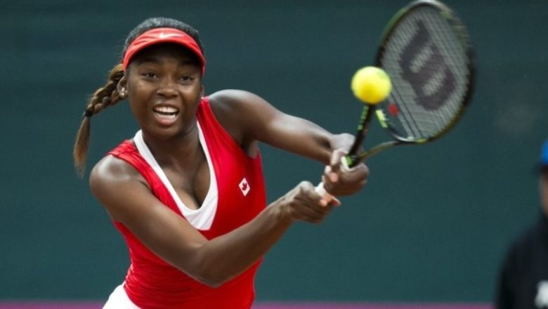 Françoise Abanda gagne son premier match aux Internationaux de France — Roland-Garros